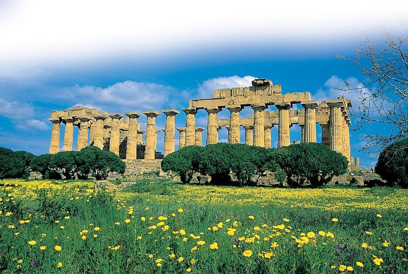 Tempel von Selinunte bei 40 Km von Sciacca