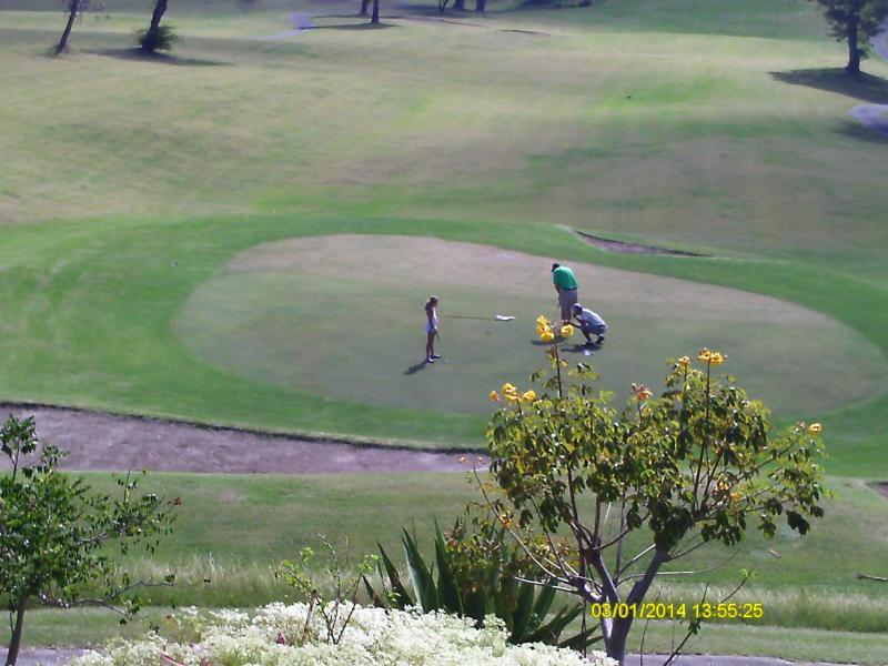 Golf Cousre Front View