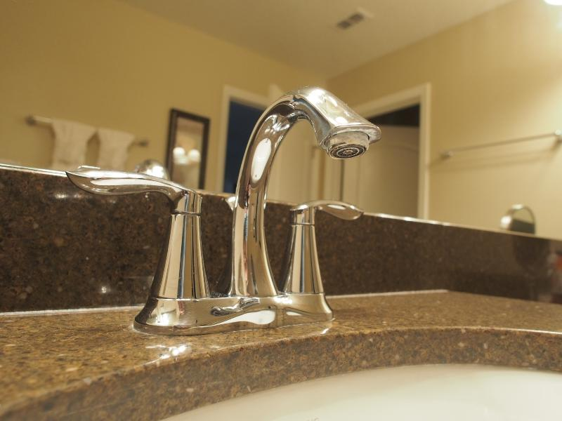 Faucet and Granite Counter Top