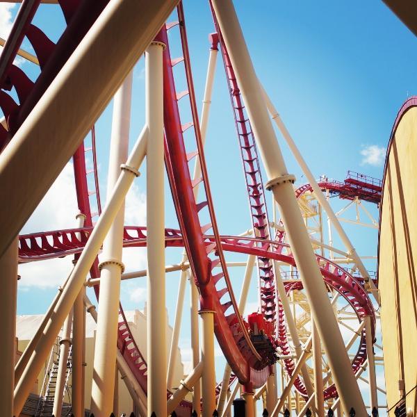 Rollercoaster aux Studios Universal