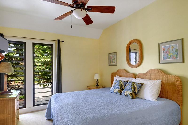 Habitación de huéspedes privada, dos con camas individuales camas se pueden convertir en una cama king size. Vistas a la montaña, TV plana