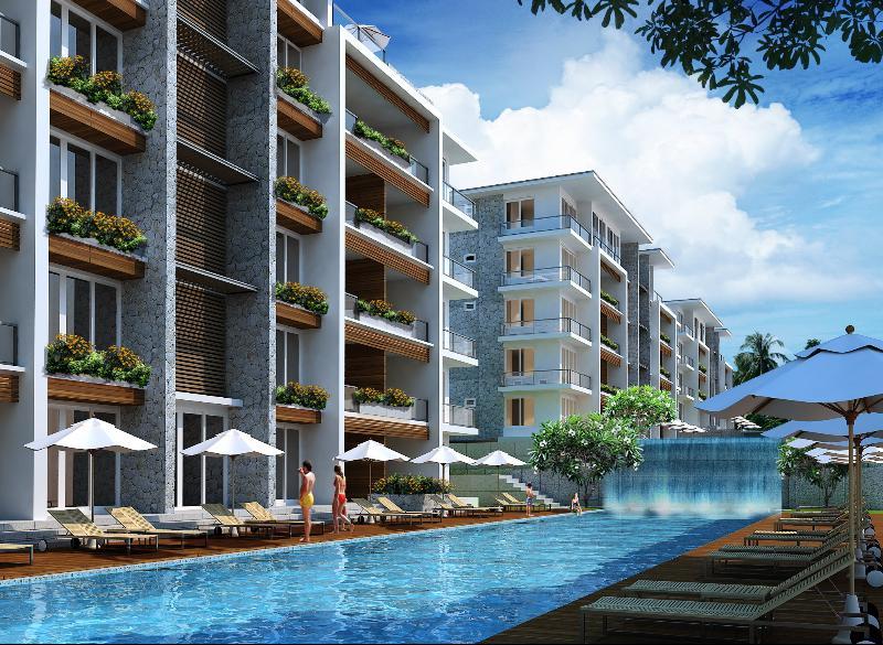 2 Bedroom Pool Access Condo between Patong - Kamala Phuket Thailand Glimpse of Sea Viea Water Falls