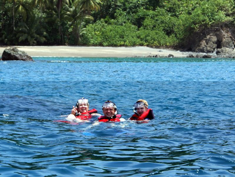 Snorkeling and diving tours to Cano Island can pick you up at the riverfront dock
