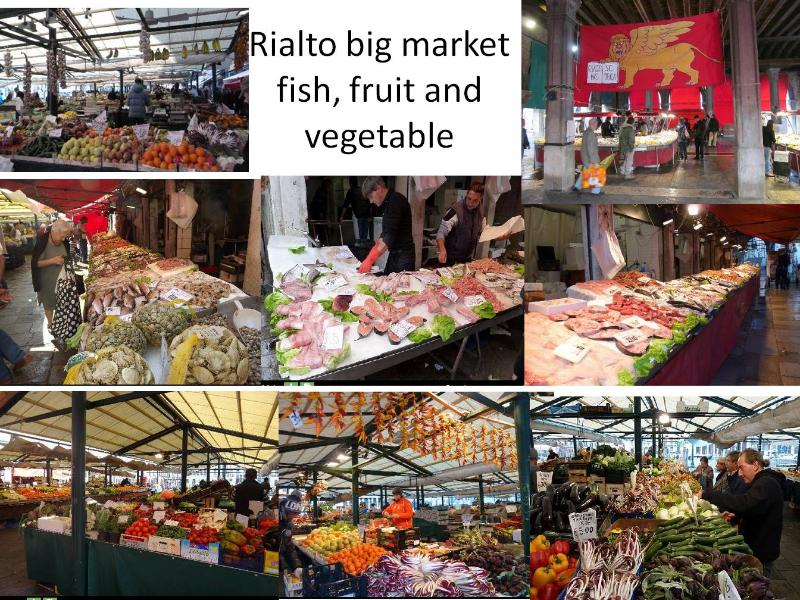 The beautiful Rialto Market