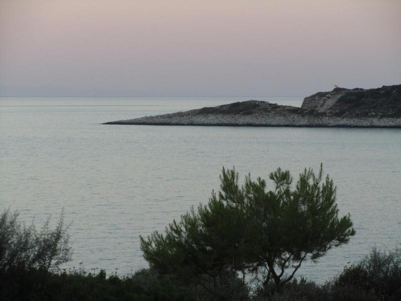 aguas tranquilas del Mediterráneo