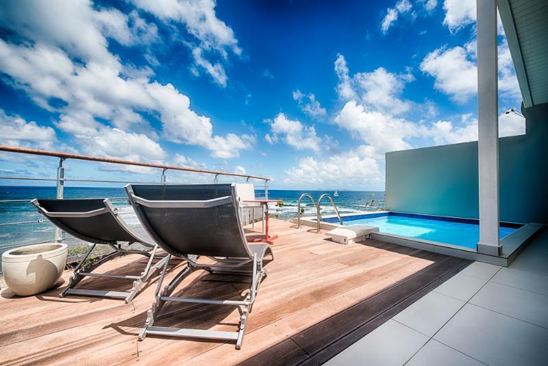 Villa Ajoupa: Terrace - Ocean View