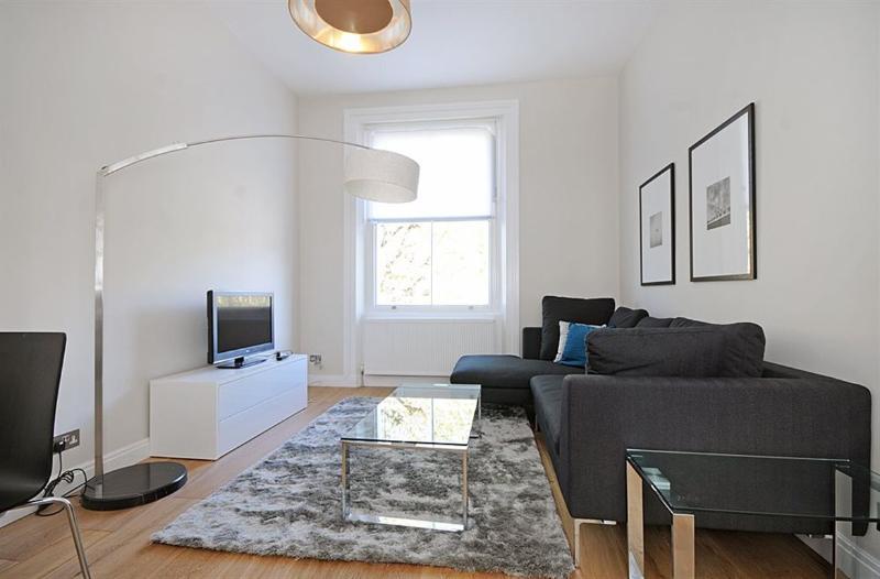 Elegant and bright living area