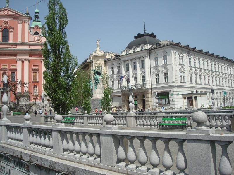 Prešeren square, 10 minutes from the Aparment