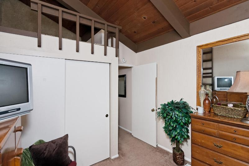 Front Bedroom has small loft area w/ladder. Fun for kids to enjoy