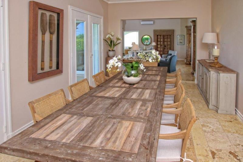 formal inside dining