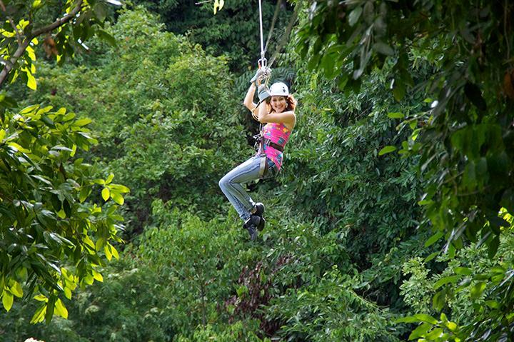 Take a ride on the wild side - Zipline at Chukka