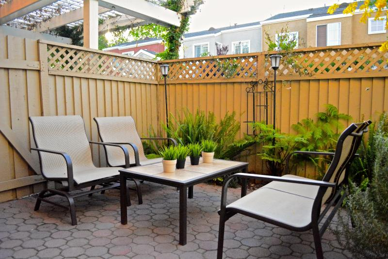 Nice patio to enjoy the afternoon breeze