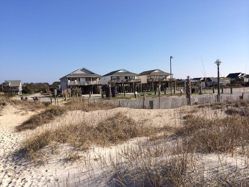 House from beach! (Middle one!)