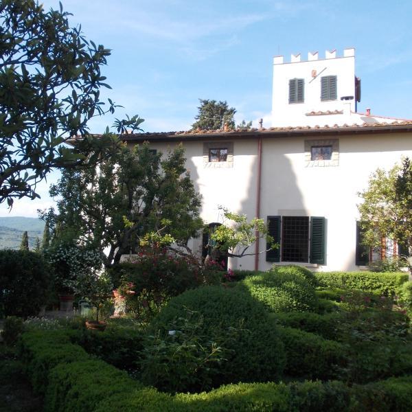 Villa Sestini Florence hill, holiday rental in Osteria Nuova