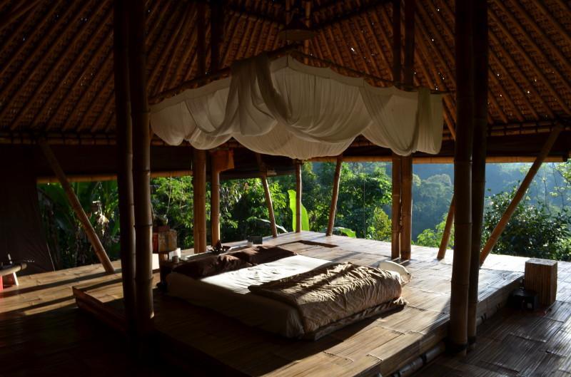 Bamboo Eco Villa by Mountain Rainforest, holiday rental in Pupuan