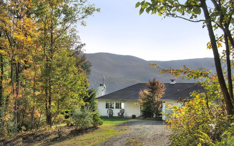 Sunridge Retreat with Blue Ridge Mountains behind