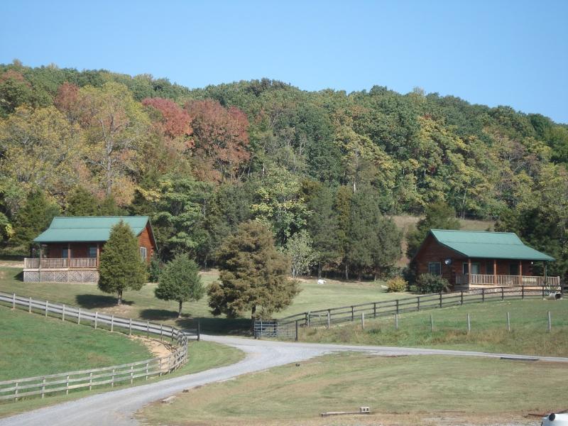 Cabanes en rondins sur la propriété également disponibles à la location