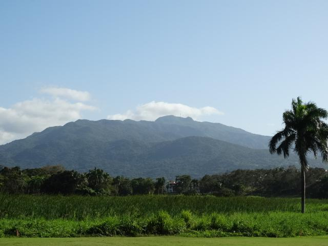 El Yunque Rainforest.  View from hole #1, River Course