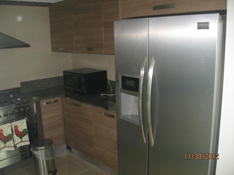 Rostfritt stål kök med diskmaskin