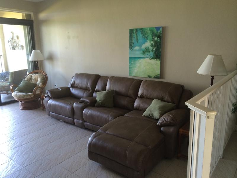 New couch with three recliners
