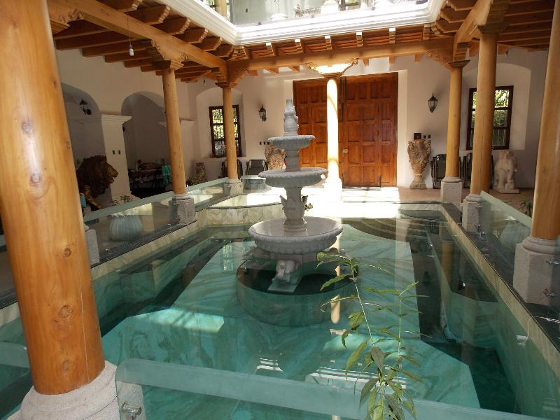 Indoor Lap Jet Pool with Jazucci