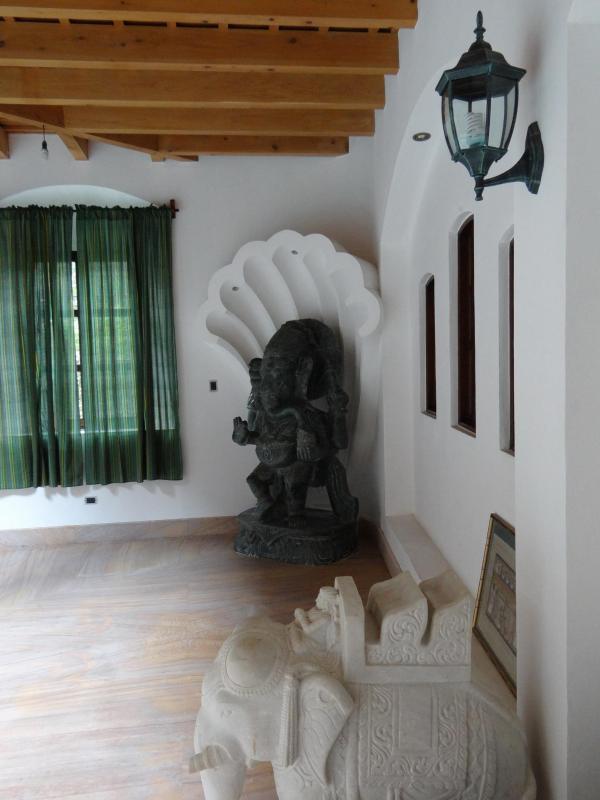 THree Ton Green Marble Ganesha Statue