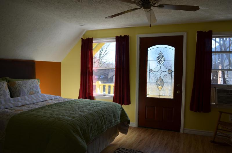 Unit 2 Upper level Bedroom # 3 Queen Bed