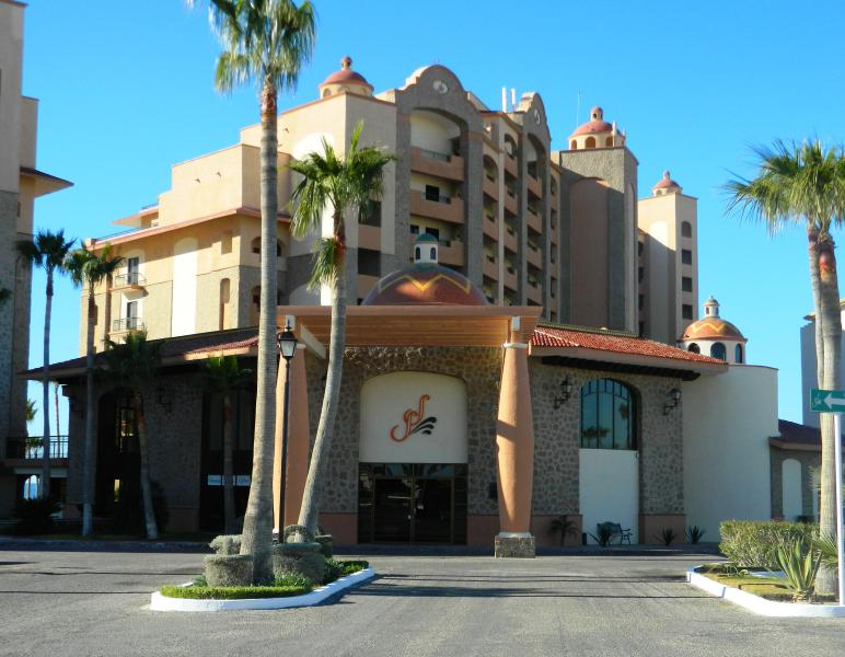 L'entrée principale de The Sea Resort Sonoran