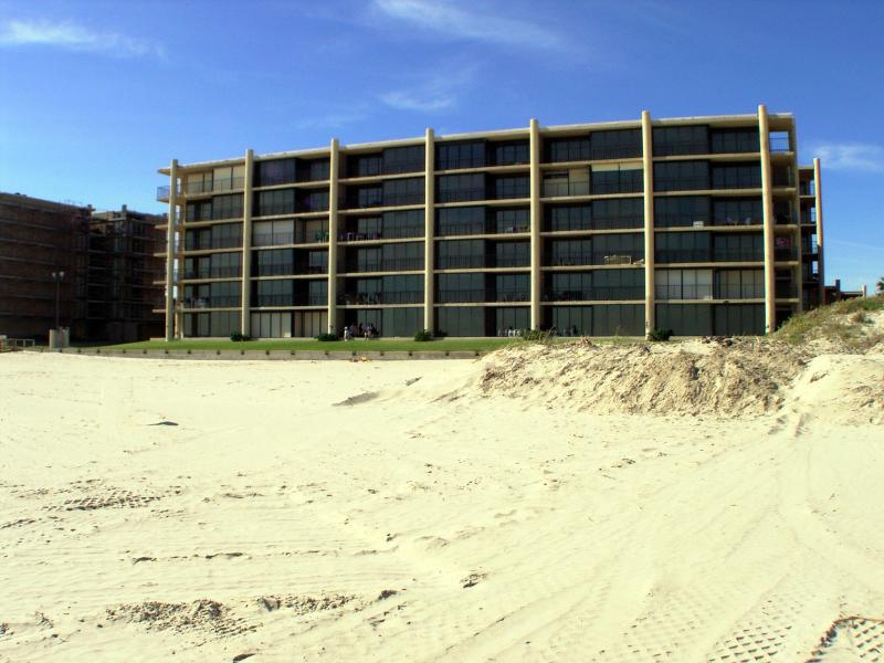 Building...Condo sits on beach...4th floor middle of buuilding