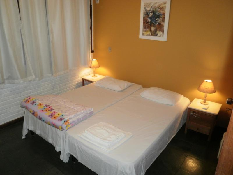Bedroom - The two single beds can be transformed into a queensize bed.