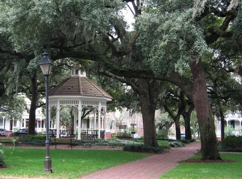 Visit all  22 Savannah Squares~Whitfield Square is just around the corner