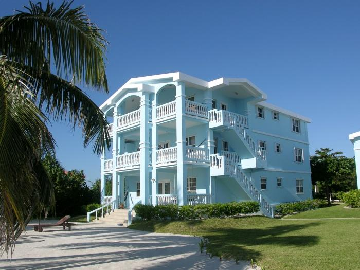 The first floor unit is all yours! Steps away from the pristine beach and warm  Caribbean waters!