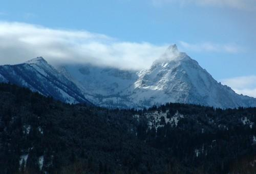 This is the mountain near Mullan, ID