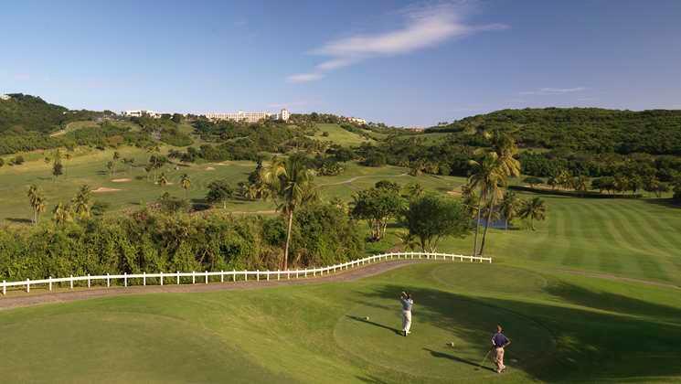 Golf course at El Conquistador Hotel