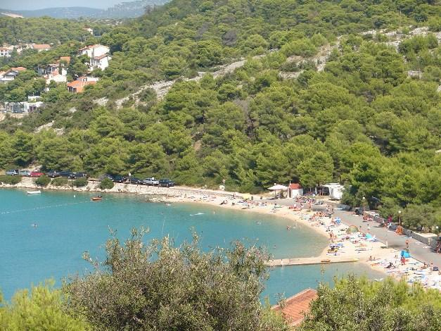 *Lovisca*, closest beach 700m from the house