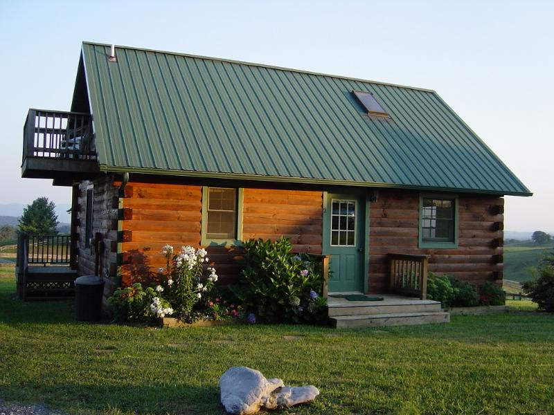 Lazy Acres Cabins. we have two identical cabins on this farm for rent