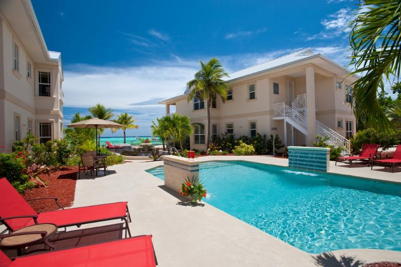 All villas have lovely views of the Caribbean Sea and/or pool and garden area.