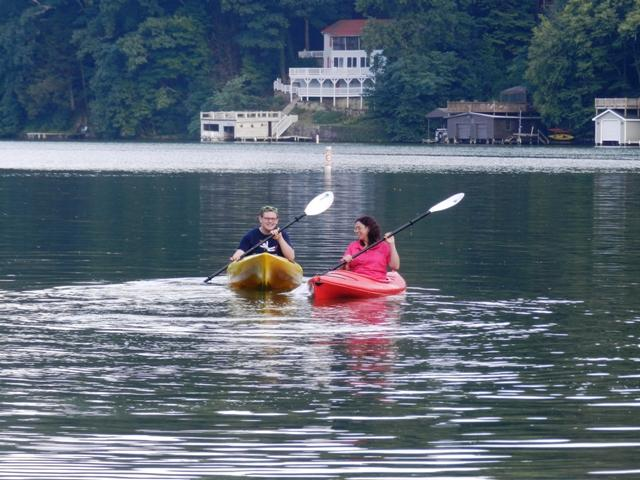 Rent a kayak to explore Lake Lure - only 3 miles from cabin