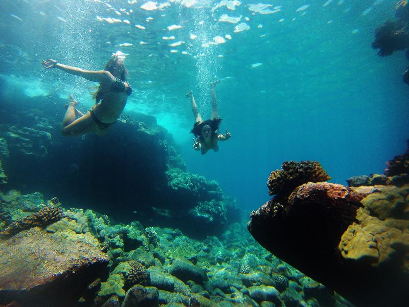 We are minutes from spectacular snorkeling