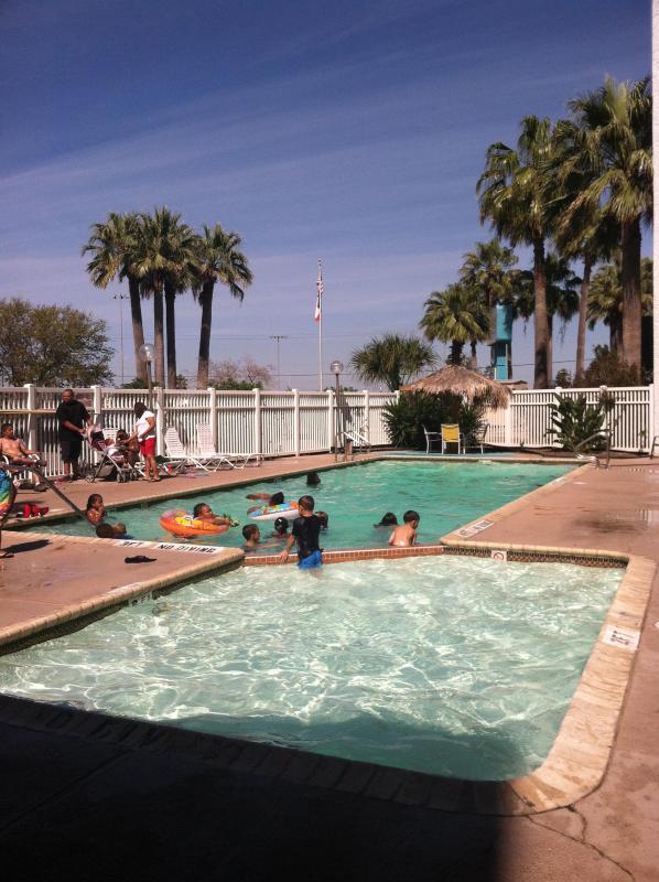 Bldg 1 pool, Heated during winter