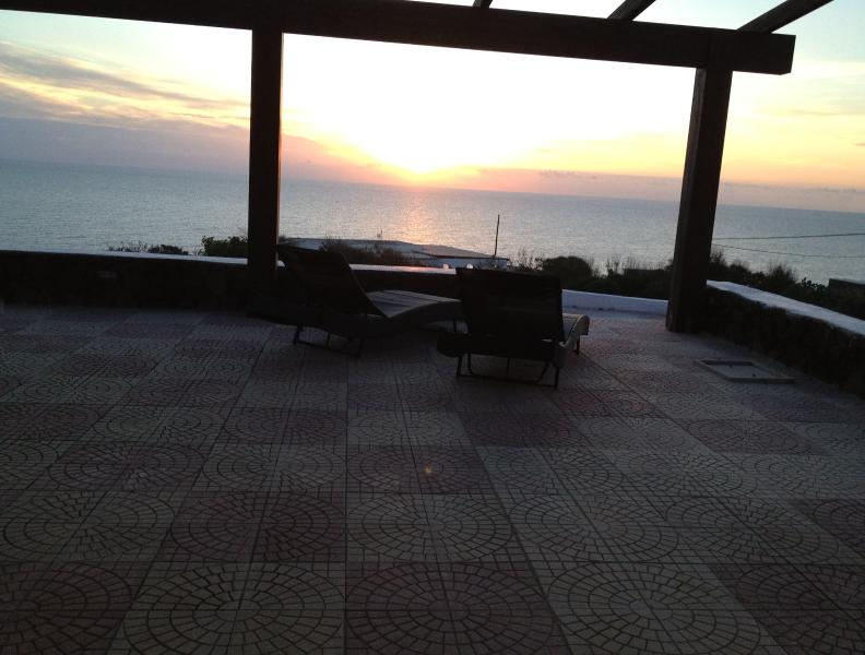 patio at sunset 1