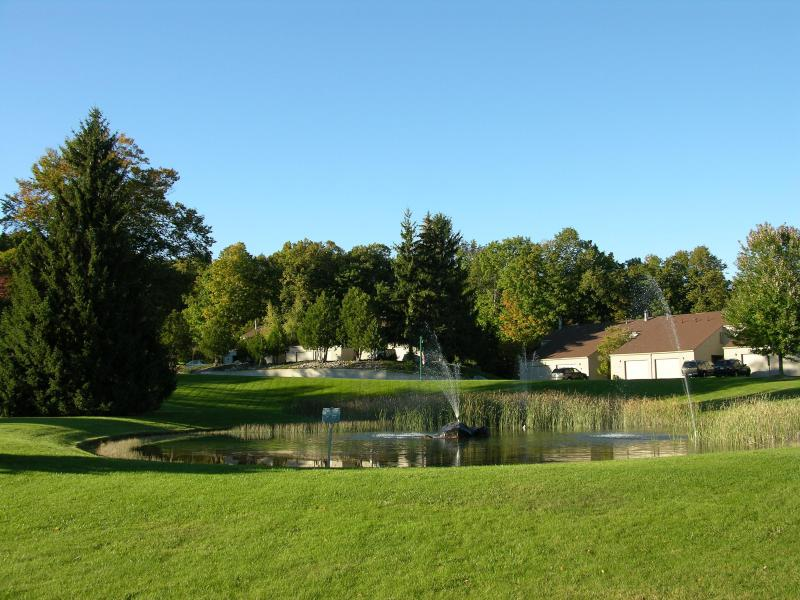 Jardin et aire de jeux
