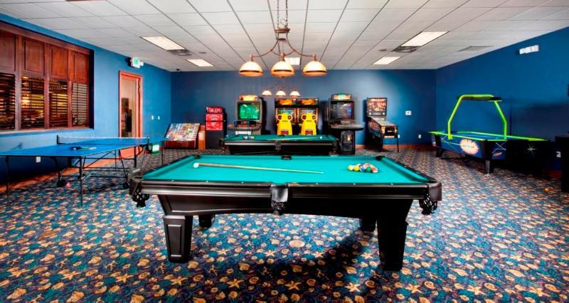 Salle de jeux au Club House