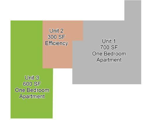 Apartment layout for Audrey Place