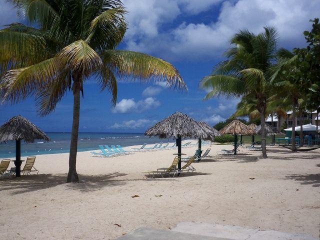 The beautiful wide beach, great swimming and snorkeling. Sea turtles nest at the secluded far ends