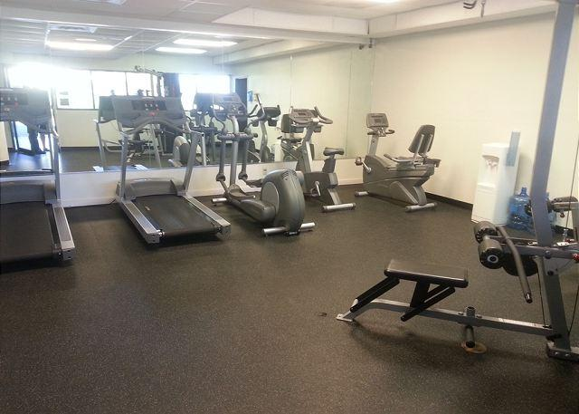 Fitness center on the property. As a guest you have access to the facility.