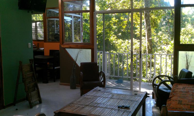 Cosy Top Trees Jungle Apartment Quepos/Manuel Antonio, holiday rental in San Carlos