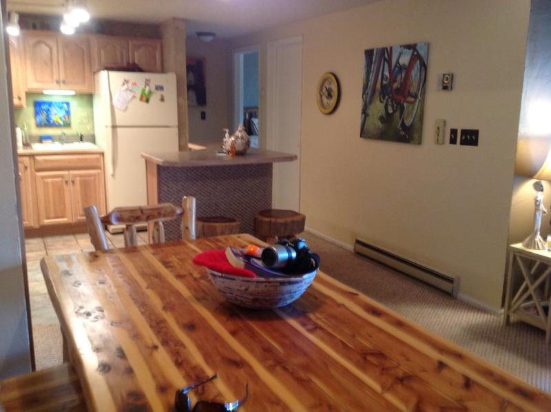 Grande mesa de jantar