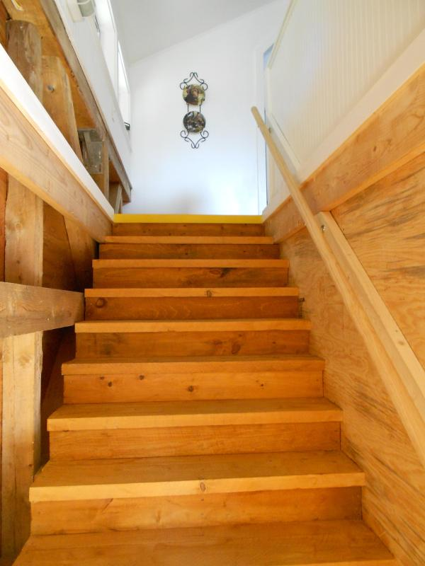 Stairway to Studio Apartment