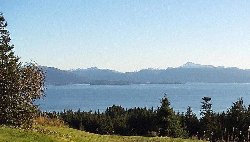 Overlooking Kachemak Bay